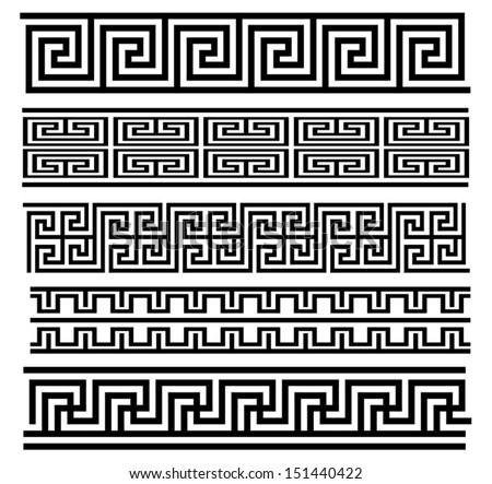 Seamless Meander Patterns