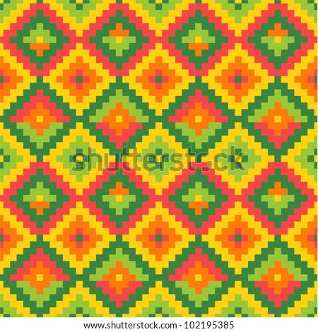 Seamless mexico pattern #2