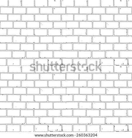 seamless monochrome brick
