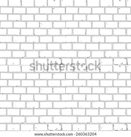 seamless monochrome brick