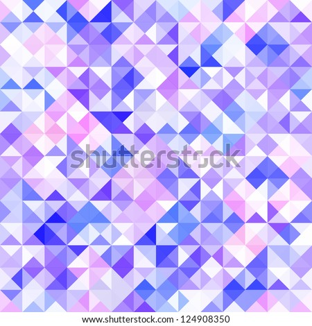 Seamless mosaic background. Vector illustration.