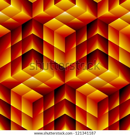 Seamless mosaic pattern. Vector illustration. - stock vector