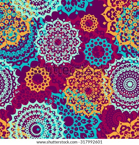 seamless multicolor pattern
