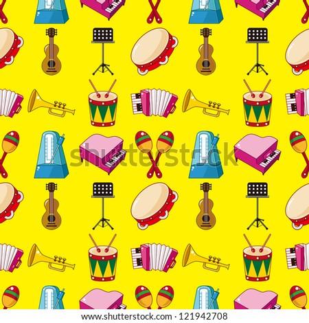 seamless music pattern