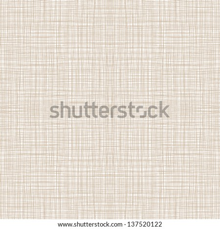 Seamless Natural Linen Pattern Vector Illustration