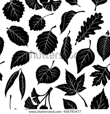 seamless nature background with