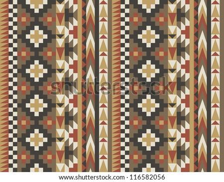 Seamless navajo pattern #2