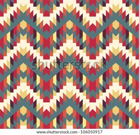 Seamless navajo texture