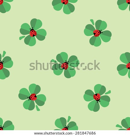 seamless nice green  pattern