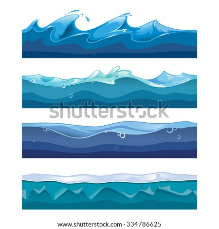 seamless ocean  sea  water