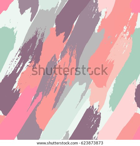 seamless oil painting vector