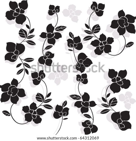 black and white flowers wallpapers. and white flower wallpaper