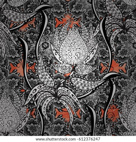 seamless oriental ornament in