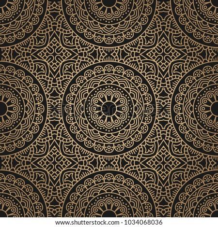 Seamless oriental pattern.