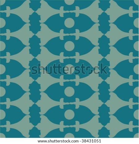 seamless ornate pattern #38431051