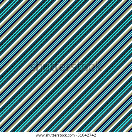 Seamless pastel blue pattern with diagonal dark stripes (vector)