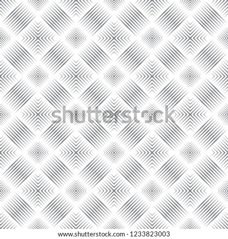 Seamless pattern. Abstract linear textured background. Modern geometric texture with thin lines.Regularly repeating geometrical tiles with rhombuses,diamonds,corners.Vector element of graphical design