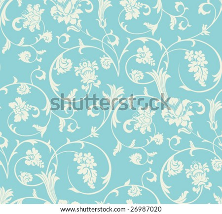 Seamless pattern. All elements and textures are individual objects. Vector illustration scale to any size.