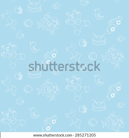 seamless pattern baby
