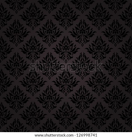 Seamless pattern background. Damask wallpaper