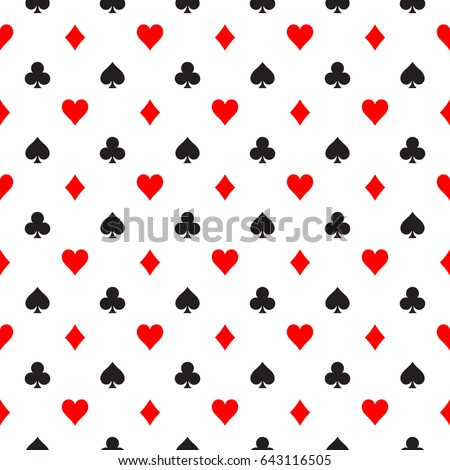 stock-vector-seamless-pattern-background-of-poker-suits-hearts-clubs-spades-and-diamonds-arranged-in-the