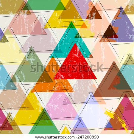 stock-vector-seamless-pattern-background-with-strokes-splashes-and-triangles
