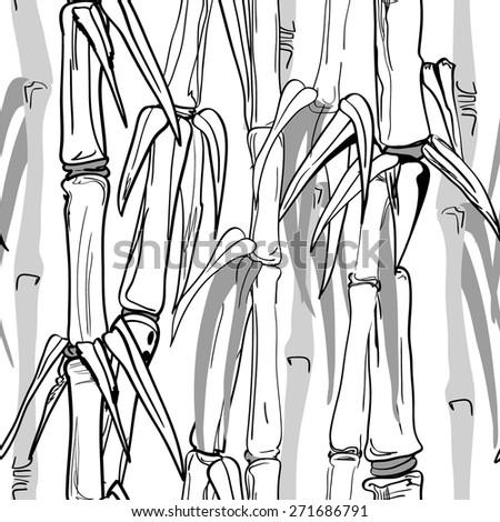 seamless pattern   bamboo