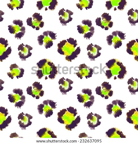 seamless pattern based on the