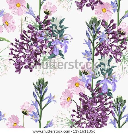 seamless pattern beautiful