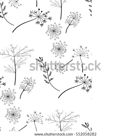 seamless pattern botanical