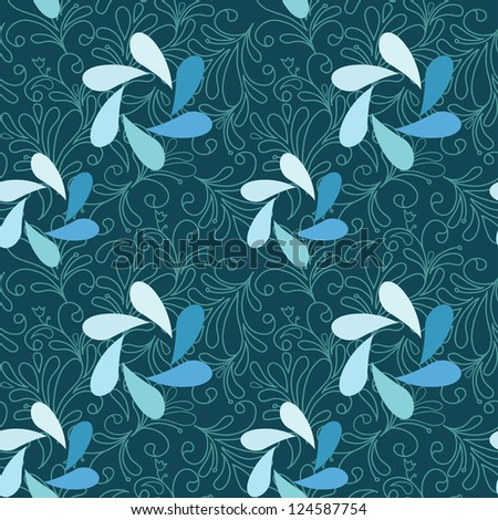 Seamless pattern can be used for wallpaper, pattern fills, web page background