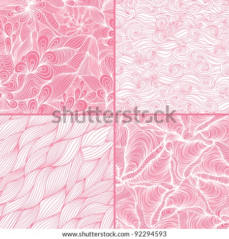 Seamless pattern can be used for wallpaper, pattern fills, web page background, surface textures. Gorgeous seamless floral background