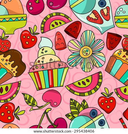 Seamless pattern can be using to stationery, wrapping paper, packaging, invitations, greeting cards #295438406