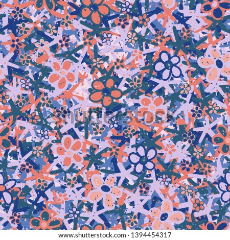 seamless pattern casually