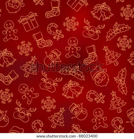 Seamless Pattern - Christmas