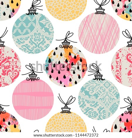 stock-vector-seamless-pattern-christmas-decor-can-be-used-as-background-packaging-paper-cover-fabric-and