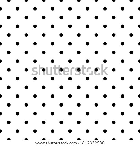 Seamless pattern. Circles ornament. Dots wallpaper. Polka dot motif. Geometric backdrop. Rounds background. Dotted illustration. Spots image. Digital paper, textile print, web design, abstract. Vector