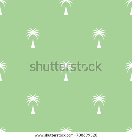 seamless pattern coconut tree
