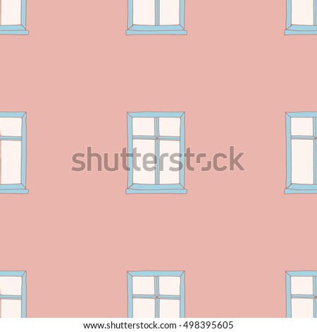seamless pattern depicting a