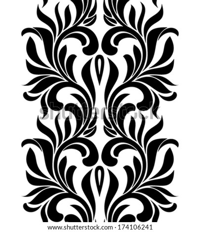 seamless pattern element for