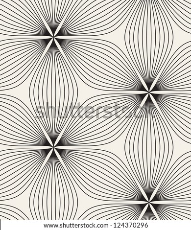 Seamless pattern. Floral stylish background. Vector repeating texture - stock vector