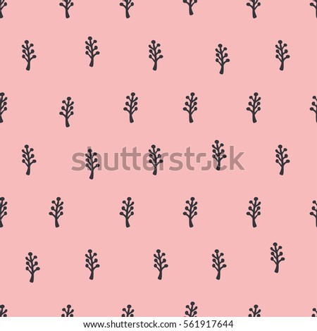 seamless pattern, flower art  background design for fabric and decor