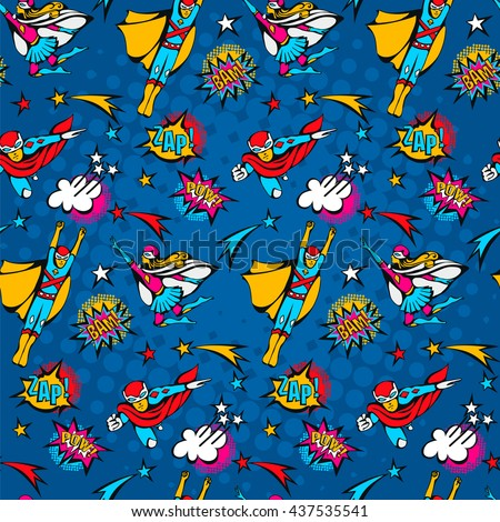 seamless pattern flying