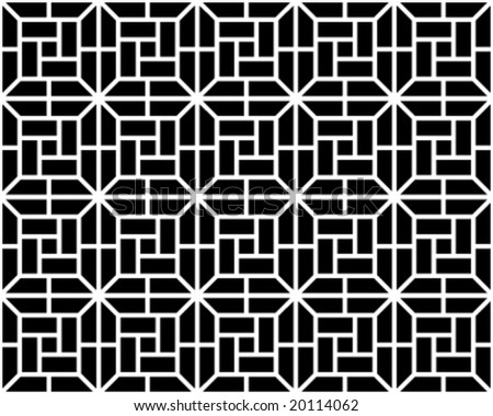 Seamless pattern for any background