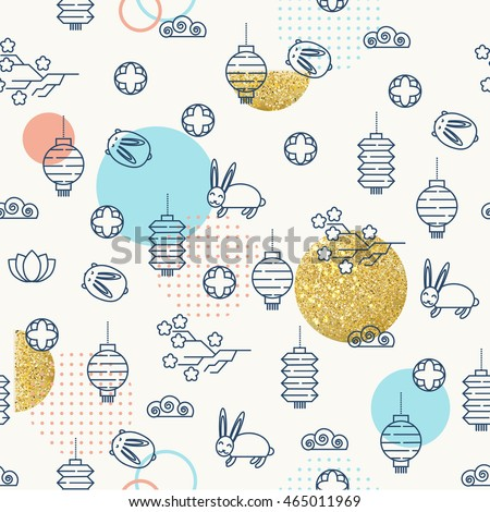 seamless pattern for the mid