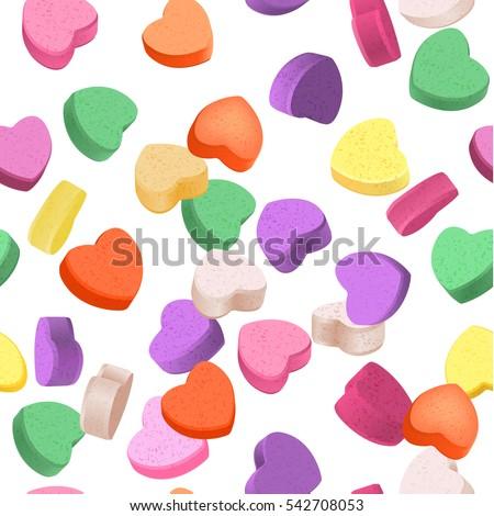seamless pattern for valentine