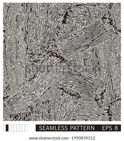 seamless pattern from painted