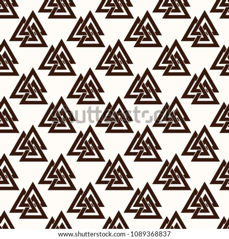 seamless pattern from the