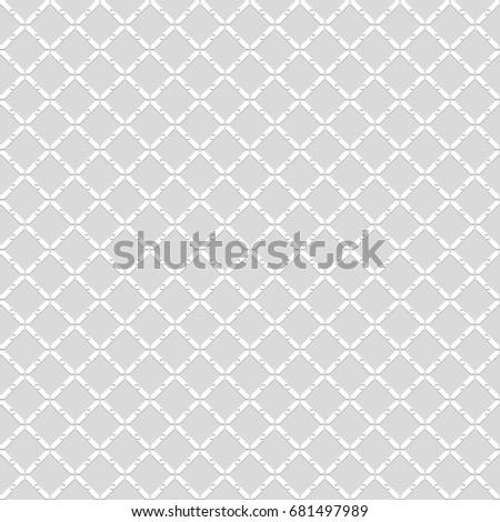 Seamless pattern. Geometric background. Unusual lattice. Vector illustration.
