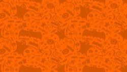 Seamless pattern halloween background,vector illustration